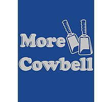 More Cowbell T Shirt Funny Novelty Comedy TV Skit Tee Photographic Print