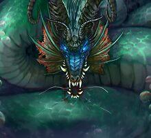 Water Dragon by Sturmschwinge