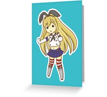 Kantai Collection: Shimakaze Greeting Card