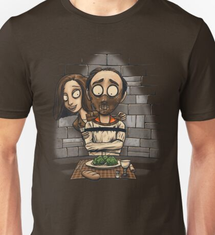 The Silence of the Vegetables Unisex T-Shirt