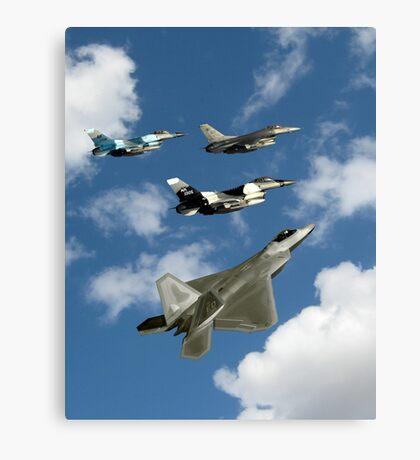 Dreams of Aircraft Canvas Print