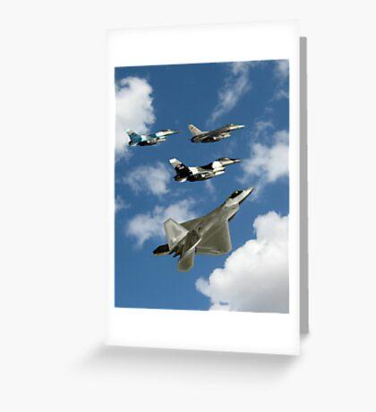Dreams of Aircraft Greeting Card