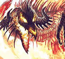 Fire Dragon by Sturmschwinge