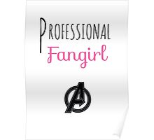 Professional Fangirl - Avengers Poster