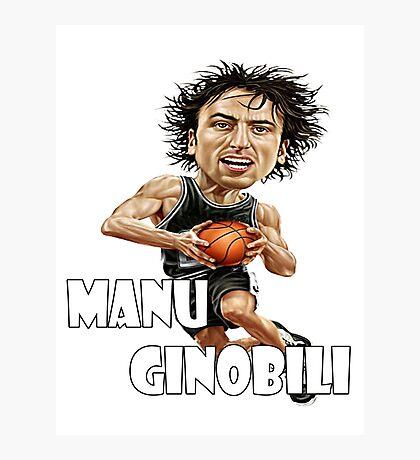 Manu Ginobili Photographic Print