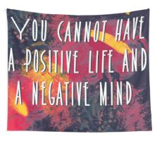 Positive quotes  Wall Tapestry