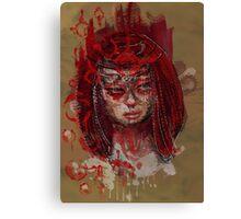 Red Goddess Canvas Print