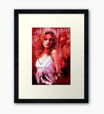 Sookie Stackhouse Framed Print