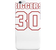 NFL Player E.J. Biggers thirty 30 iPhone Case/Skin