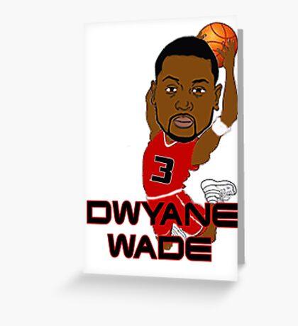 Dwyane Wade Greeting Card