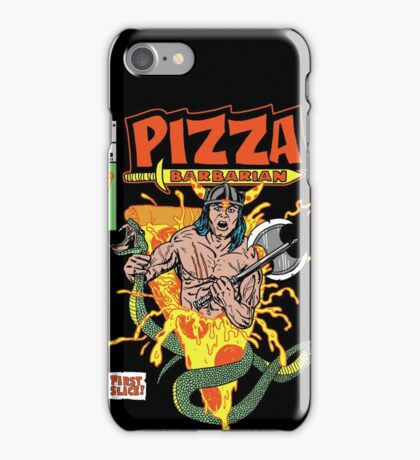 Pizza Barbarian iPhone Case/Skin