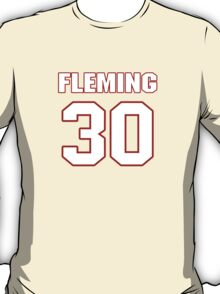 NFL Player Jamell Fleming thirty 30 T-Shirt