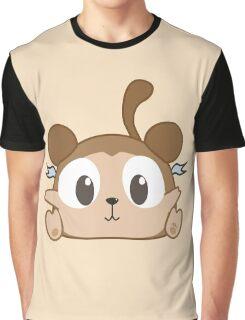 Cheeky Cute #Chibu Monkey Boo Graphic T-Shirt