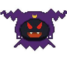 Black f Pixel by RikaKatsu