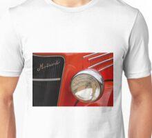 Red Hotrod Head light Unisex T-Shirt