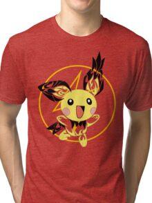 Pichu Tribal Tri-blend T-Shirt