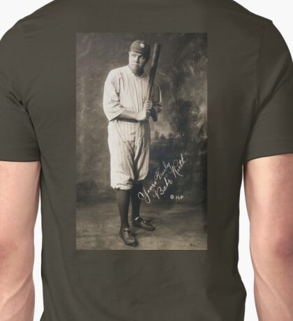 Babe Ruth, American Professional Baseball player Unisex T-Shirt