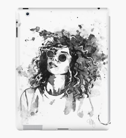 Freya In Ink iPad Case/Skin
