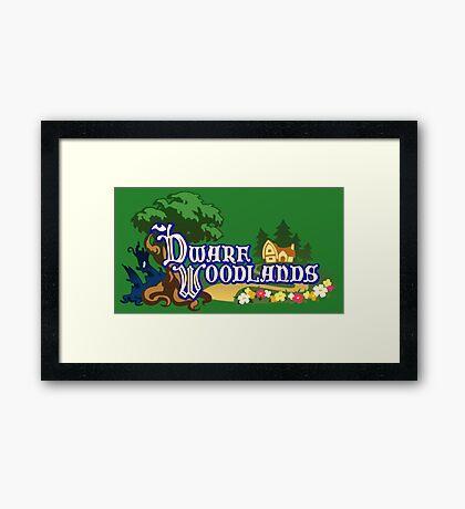 Dwarf Woodlands Framed Print
