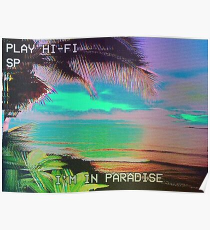 I'm in Paradise  Poster
