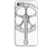 Campagnolo Super Record Strada Chainset, 1974 iPhone Case/Skin