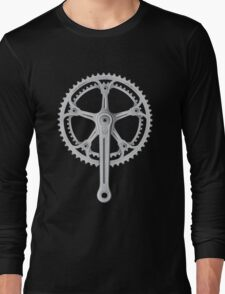 Campagnolo Super Record Strada Chainset, 1974 Long Sleeve T-Shirt