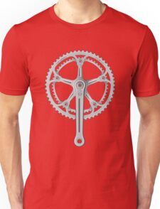 Campagnolo Super Record Strada Chainset, 1974 Unisex T-Shirt