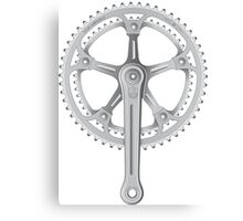 Campagnolo Super Record Strada Chainset, 1974 Canvas Print