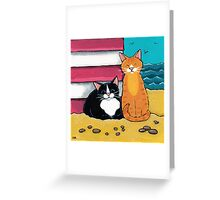 Sea, Sand and Happiness Greeting Card