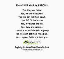 To Answer Your Questions - ToA  Unisex T-Shirt