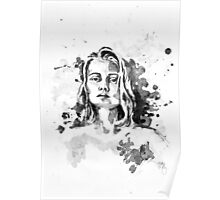 Amelia In Ink Poster