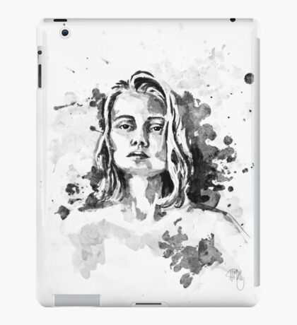 Amelia In Ink iPad Case/Skin