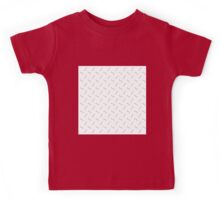 cute worm pattern,modern,trendy,contemporary pattern,grey,white Kids Tee