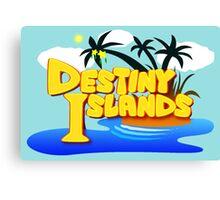 Destiny Islands Canvas Print