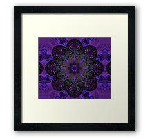 Fractal Mandala Framed Print