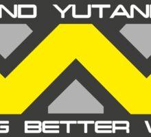 Weyland Yutani Copr. Logo Sticker