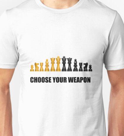 Chess Play Game Unisex T-Shirt