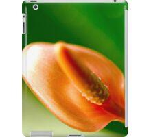 peach anthurium iPad Case/Skin