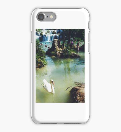 Waterfalls in Croatia iPhone Case/Skin