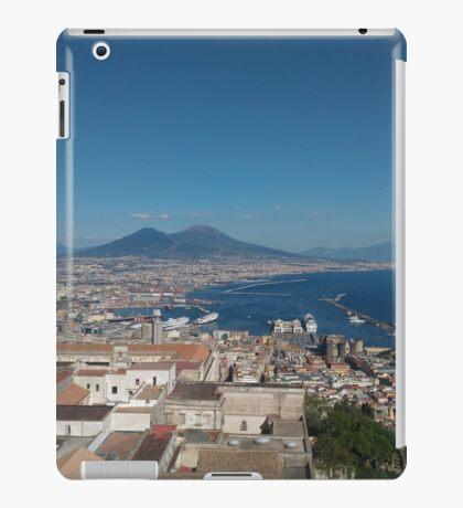 Naples Italy Sorento Vesuvio Sea  iPad Case/Skin