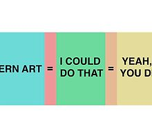 MODERN ART by taudalpoi