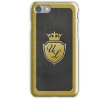 Ultra Luxe Casino Crest iPhone Case/Skin