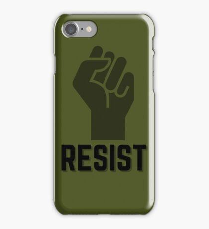 Resist Fist Icon iPhone Case/Skin