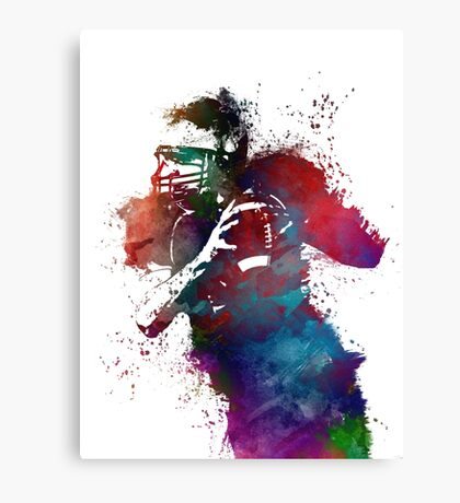 Rugby Canvas Print