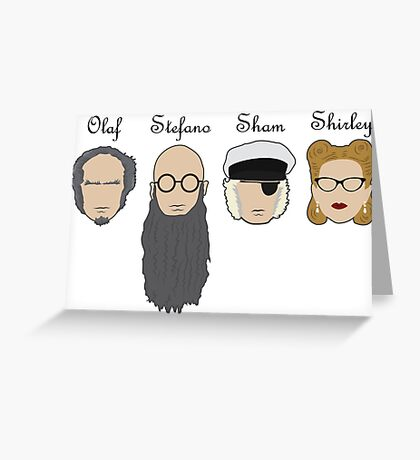 Dreadful Disguises Greeting Card