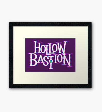 Hollow Bastion Framed Print