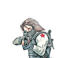 BUCKY BARNES - Winter Soldier by Farbenfrei