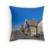 Horton in Ribblesdale Station Throw Pillow