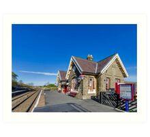 Horton in Ribblesdale Station Art Print