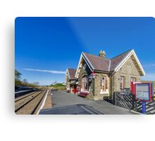 Horton in Ribblesdale Station Metal Print